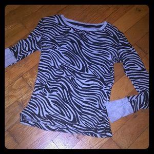 Thermal zebra top. Will price drop for bundles